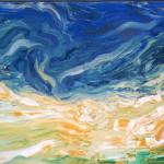 Sin título. Acrílico y óleo sobre lienzo. 81 x 100 cm. 1999