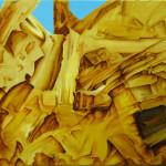 Bosque. Acrílico y óleo sobre lienzo. 65 x 92 cm. 2004