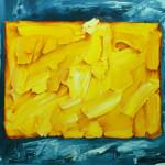Sin título. Acrílico y óleo sobre lienzo. 81 x 100 cm. 2001