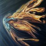 Medusa. Óleo sobre lienzo. 81 x 65 cm. 2009