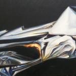 Micropaisaje 1. Óleo sobre lienzo 38 x 55 cm. 2005