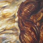 Macropaisaje 2. óleo sobre lienzo 65 x 120 cm. 2008