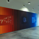 Kaos Ordenado. Mural en el Centro Huarte de Arte Contemporáneo. 3 x 9 m. 2010