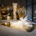 Híbrido 1. Instalación en el Museo Gustavo de Maeztu de Estella. 2008