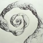 Boceto. Bolígrafo sobre papel. 2014. 29 x 42 cm.